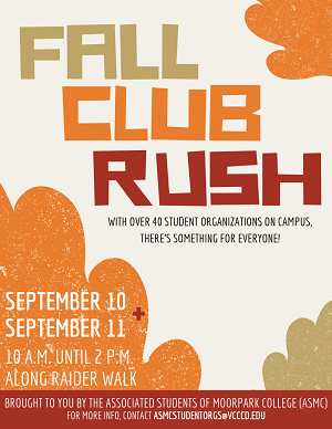 Fall Club Rush